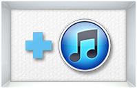 iTunesへガス抜けラジオを1ドロップ登録アイコン